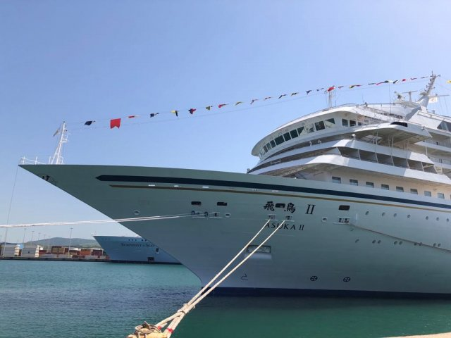 sapphire princess_symphony of the seas_norwegian epic_asuka_seabourn quest_mein schiff 5_25042018 3