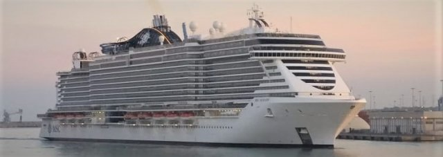 msc seaview maiden call 17042019 12